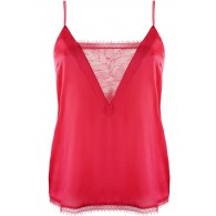 LACE AND SILK CAMISOLE