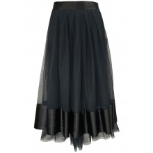 TULLE AND SILK PETTICOAT
