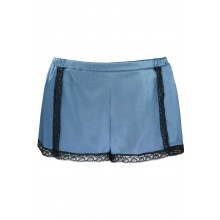LACE AND SILK BOXER SHORT